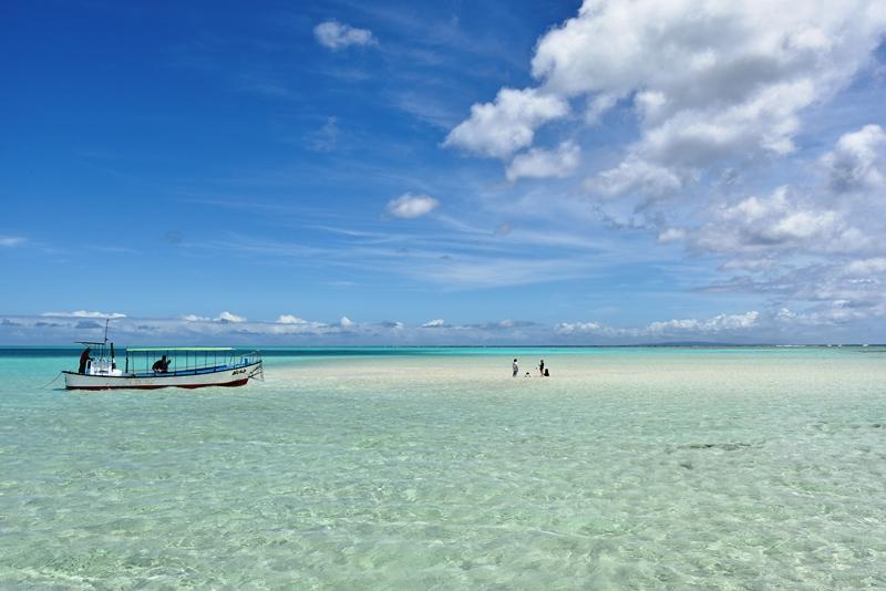 与論島「百合が浜」