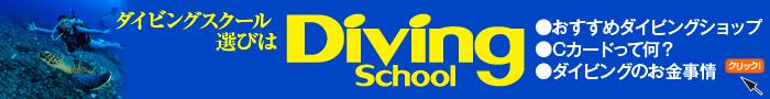ダイビングスクール選びは Diving School(大)