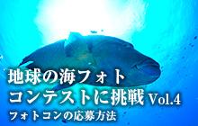 地球の海フォトコンテストに挑戦 Vol.4 フォトコンの応募方法