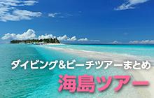 ダイビング&ビーチツアーまとめ 海島ツアー