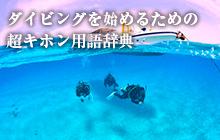 ダイビングを始めるための超キホン用語辞典