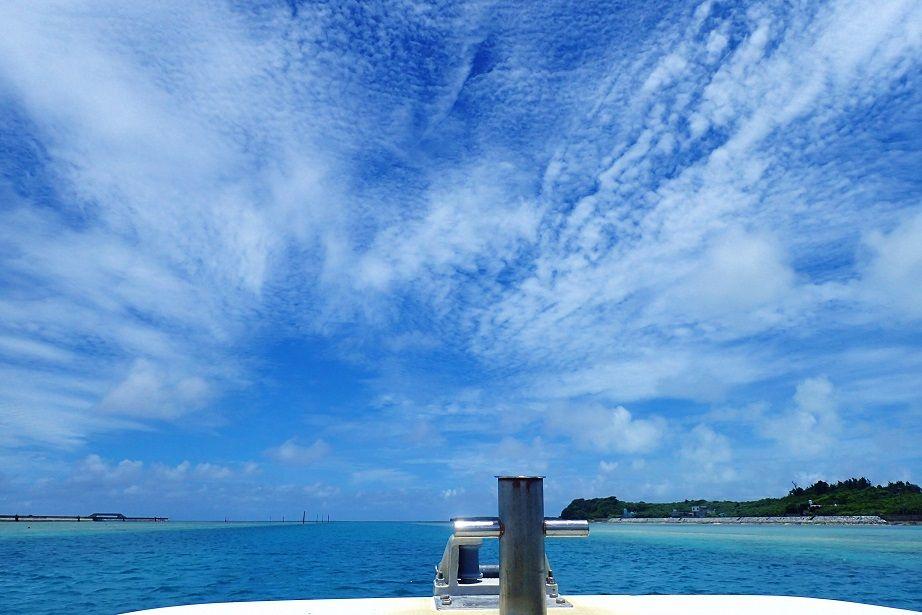 久米島より。夏、本番!