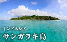 インドネシア サンガラキ島