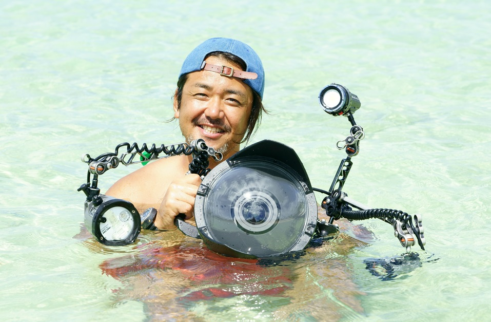 水中写真家として『マリンダイビング』でもおなじみの鍵井氏