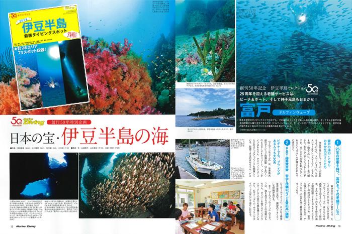 伊豆半島 厳選ダイビングスポット73