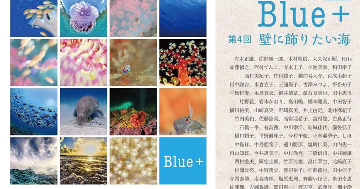 写真展「Blue+」開催 鍵井靖章さんほか
