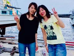 Tomo(左)<br /> koma-chan(右)
