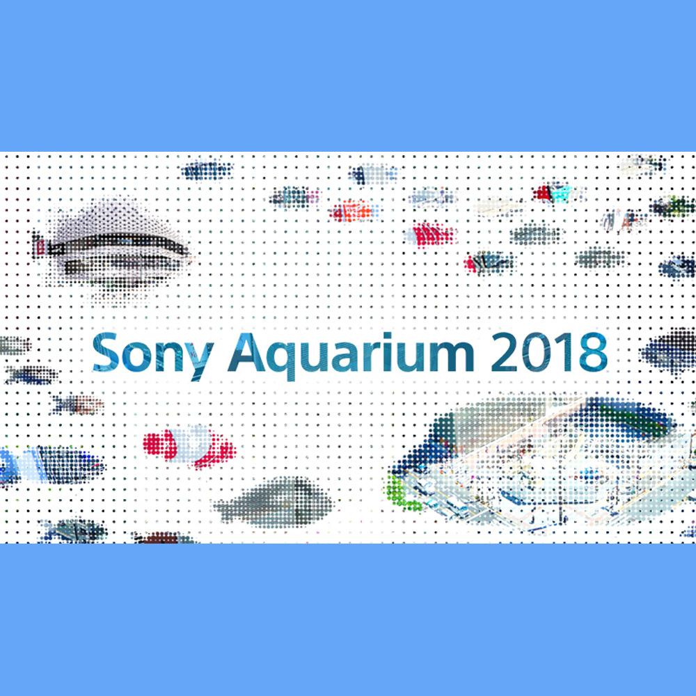 東京に沖縄の海出現!「Sony Aquarium 2018」