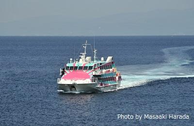 伊豆諸島が有楽町にやってくる! 東京と伊豆諸島をつなぐ高速ジェット船