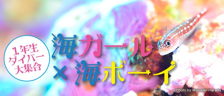 2018年10月公開 海ガール×海ボーイ