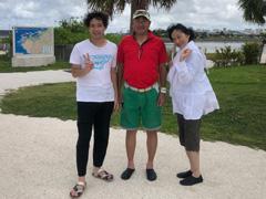 森本将伍さん(左) mame(中) SUMI(右)