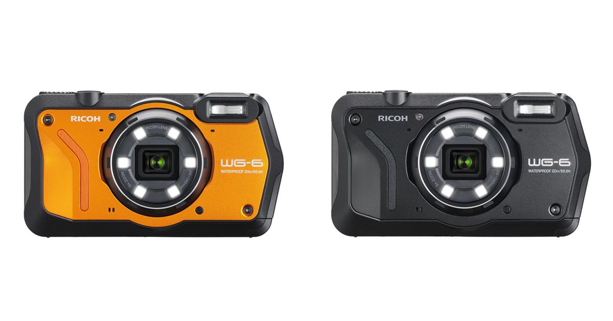 《リコー》より新製品 「RICOH WG-6」ほか