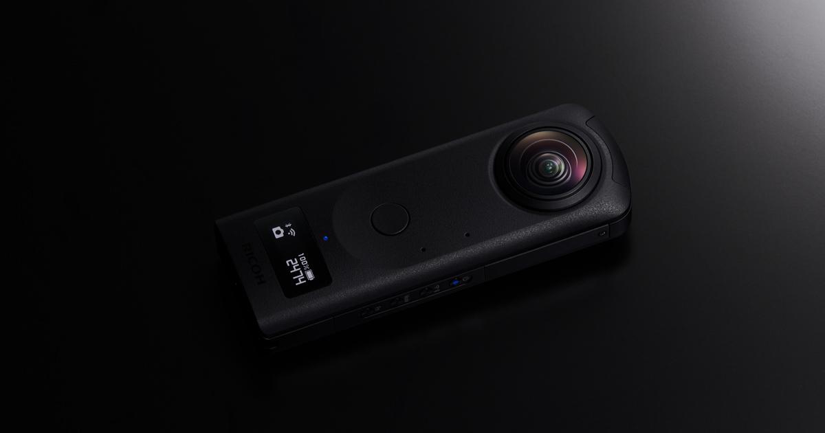 360°カメラ新製品 「RICOH THETA Z1」