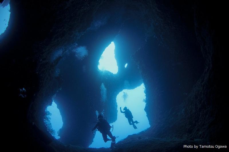 下地島のダイビングスポット「アントニオガウディ」