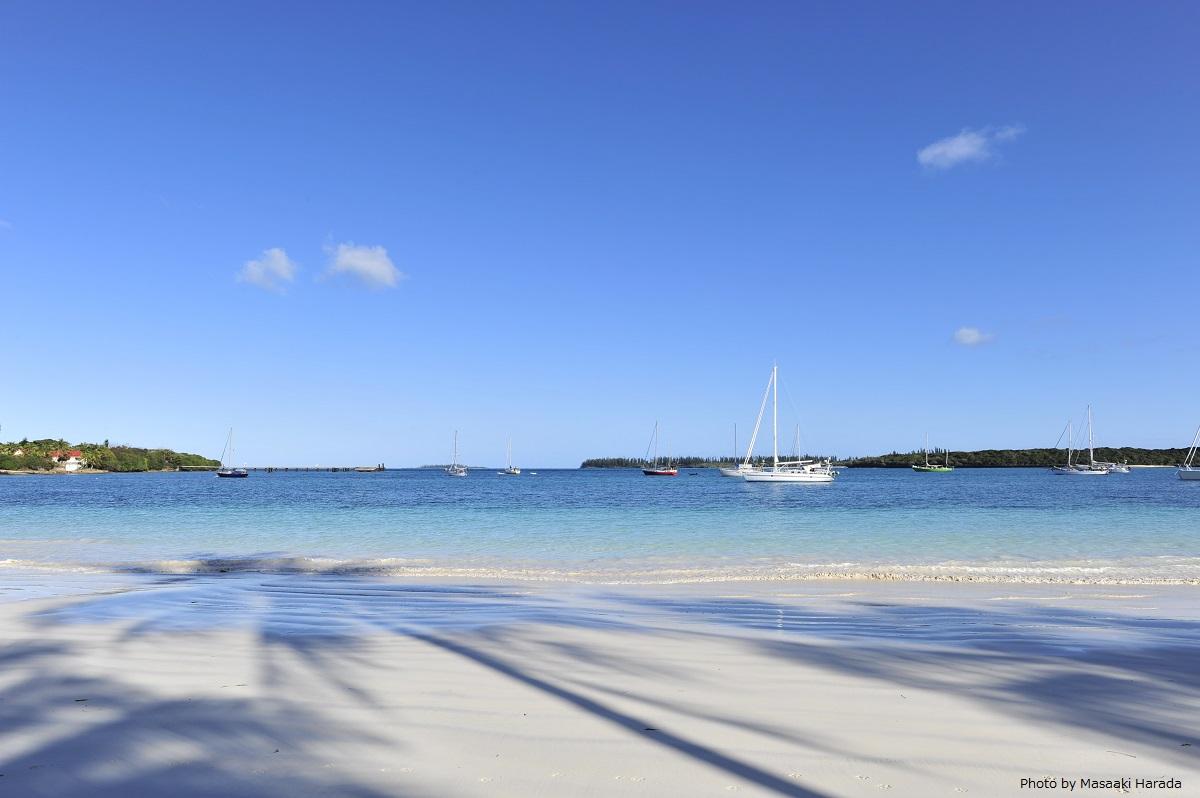 イル・デ・パンの、パウダーサンドが美しいクトビーチ