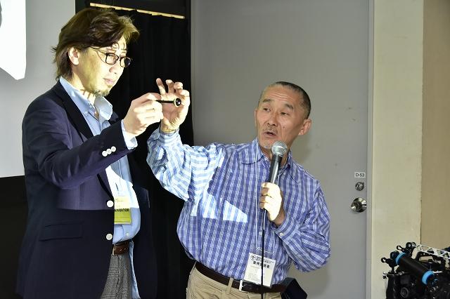 フィッシュアイ提供、阿部秀樹さんのセミナーも開催された