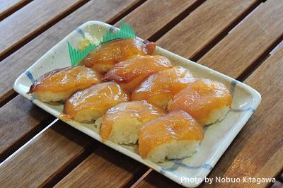 美味しい島寿司!