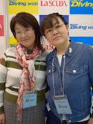 hiroko(左) ちわママ(右)