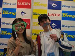 加藤緋沙乃さん(左) 小清水駿さん(右)
