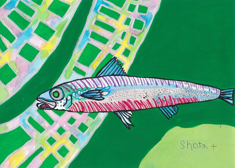こちらも小学3年生の時に描かれたもの