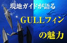 小笠原×神子元 2人の現地ガイドが語るGULLフィンの魅力とは?