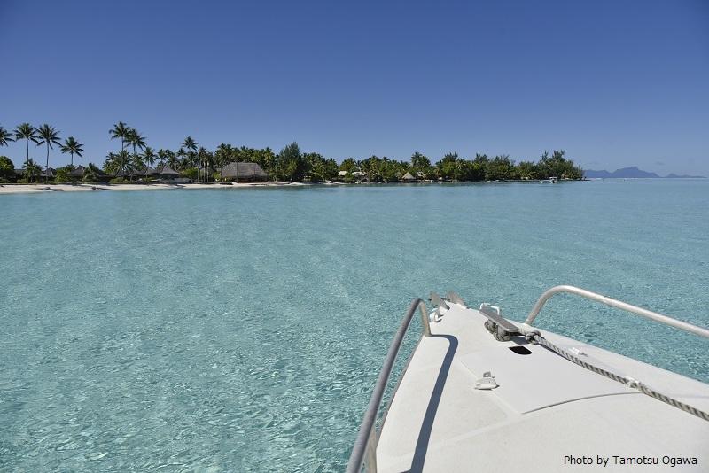 「にじいろジーン」で特集されるボラボラ島