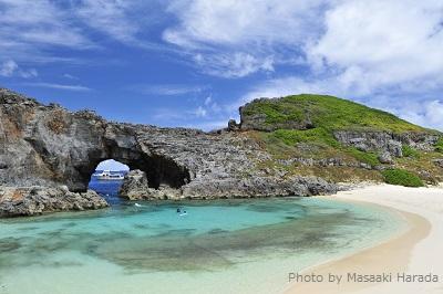 小笠原諸島・父島の南西に位置する南島