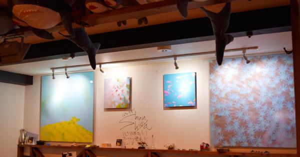 「永田町オーシャン」でむらいさちさんの写真展