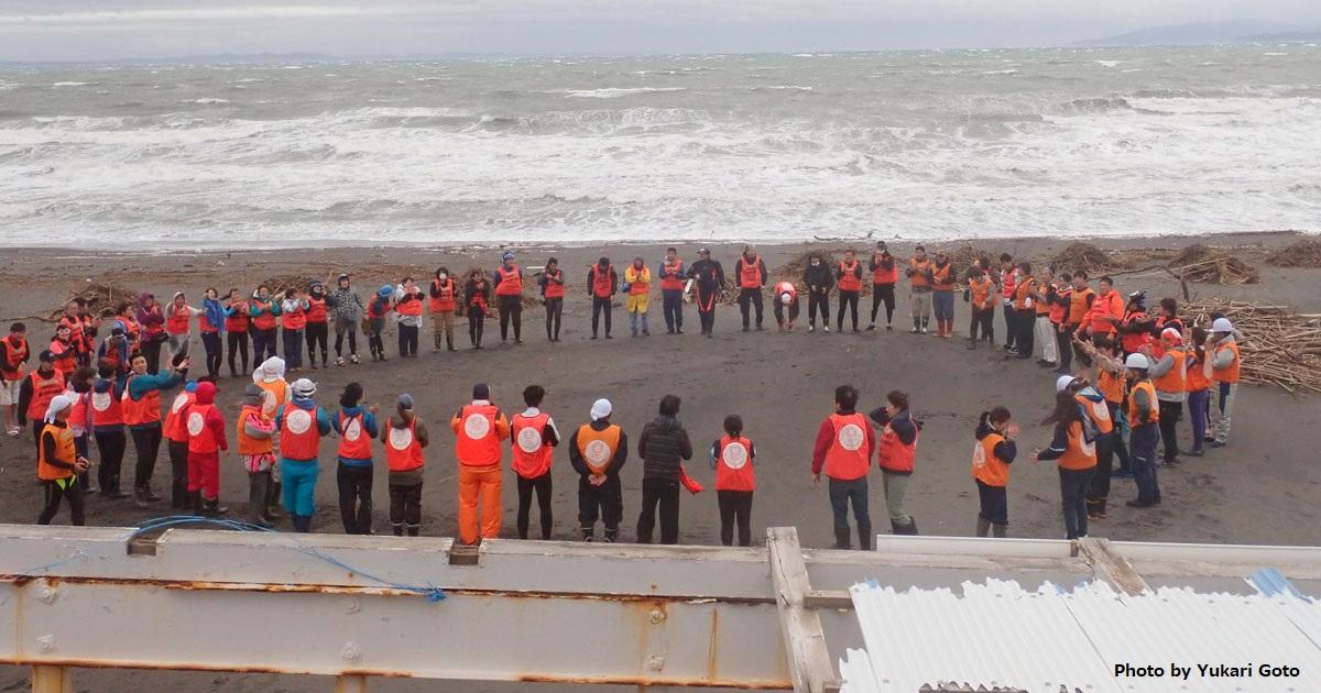 館山の海で清掃活動! ダイバーなど大集合