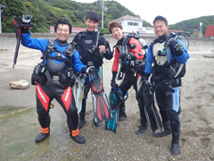 (左から) さだっち 石崎裕也さん シマッキー じゅん