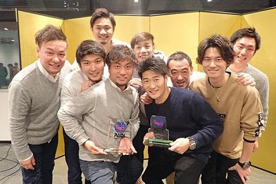 横浜店がダイブセンター部門最優秀賞、東京店が優秀賞、池袋店がカスタマーサポート賞を受賞した《マレア》の皆さん