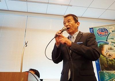 PADIアジア・パシフィック・ジャパン代表取締役社長・中野龍男氏