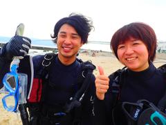 細川裕貴さん(左) 藤木麻由さん(右)