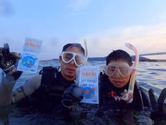 さすらいの海人(左) スーパー海猿(ジュニア)(右)