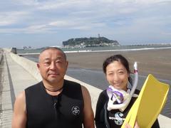 みさき(左) 樋口雅之さん(右)