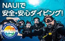 NAUIで安全・安心ダイビング!