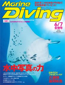 マリンダイビング2020年6月・7月合併号(海ガール)