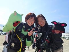 みーちゃん(左)