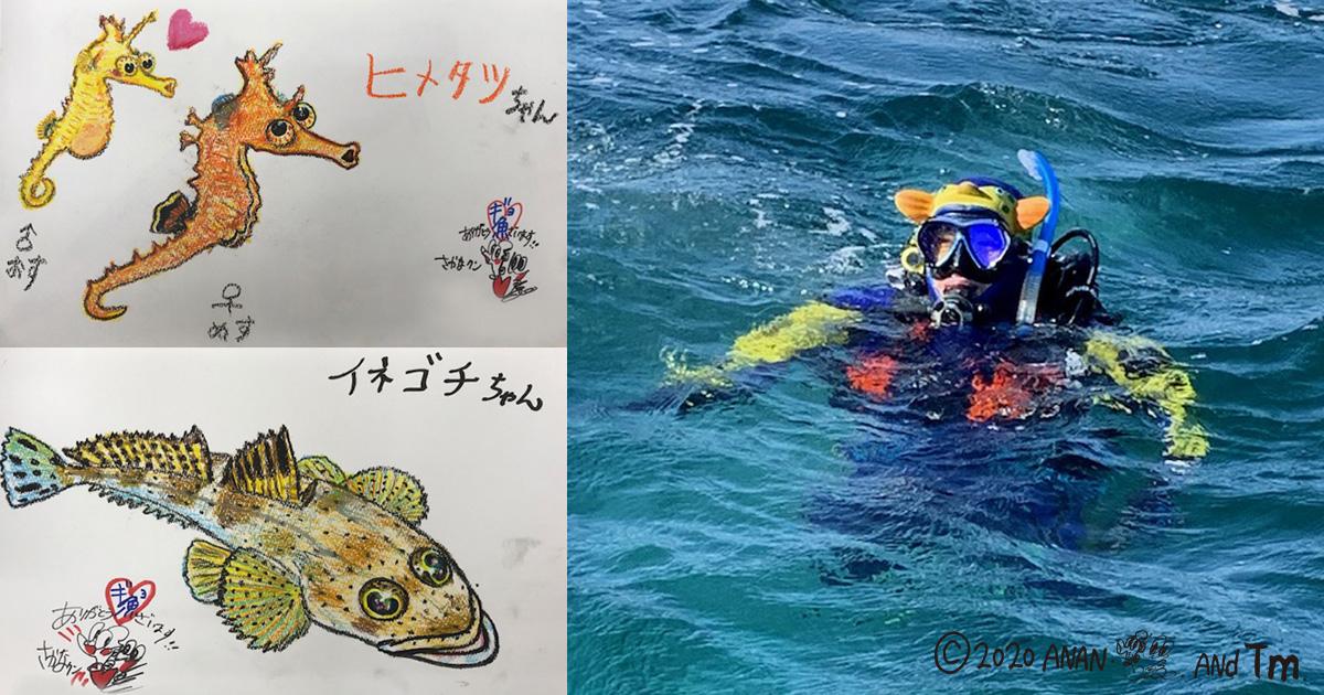 NHK「潜れ!さかなクン」最新作5/6放送