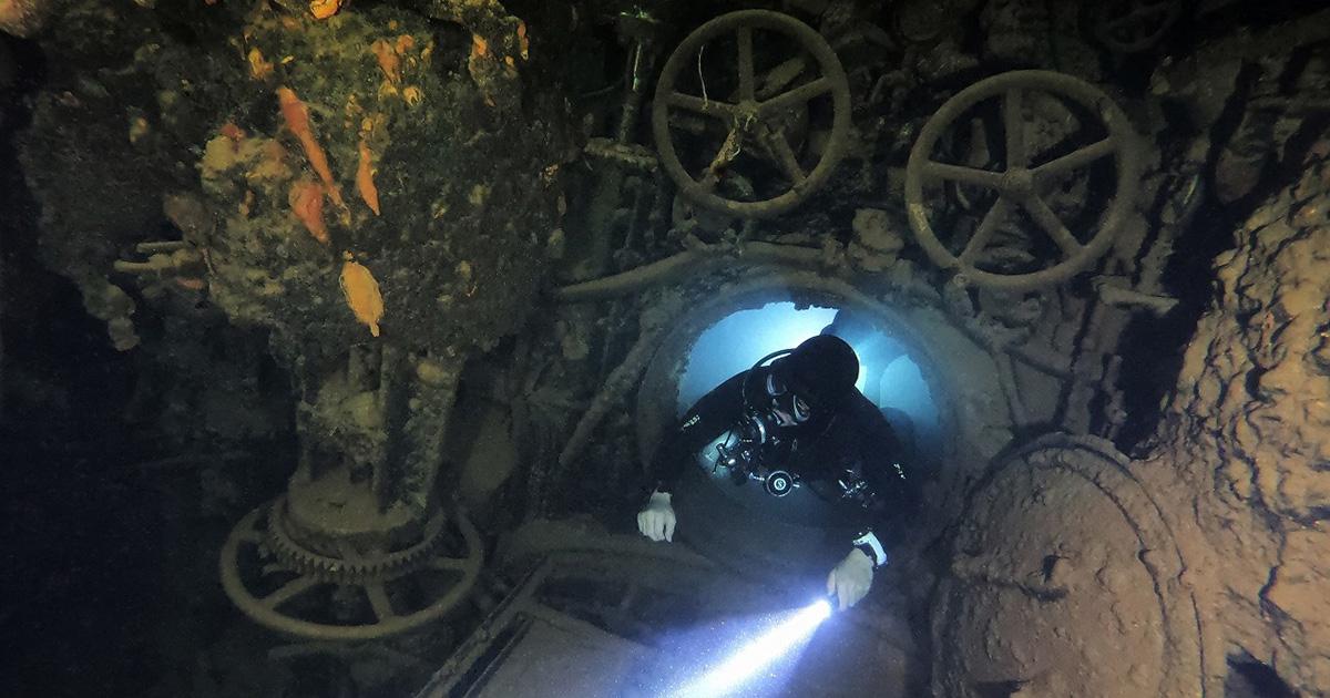 チューク「伊号第169潜水艦」の動画がスゴイ!