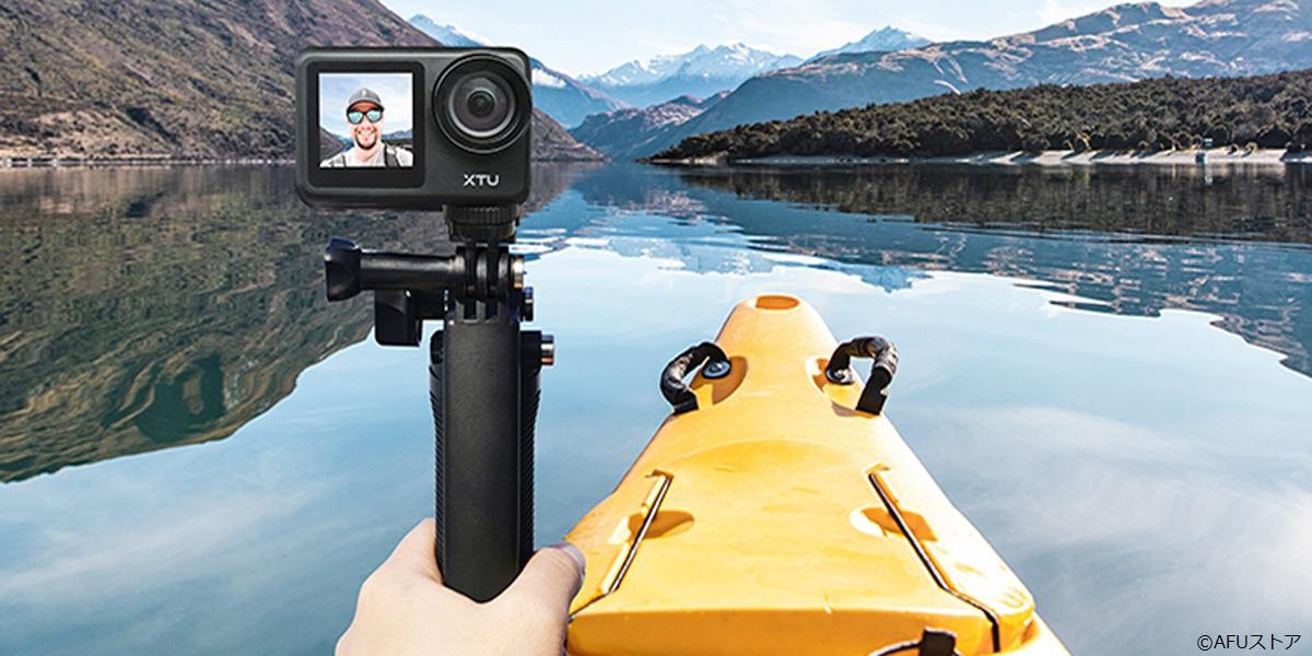 防水30mの4Kアクションカメラが新発売!
