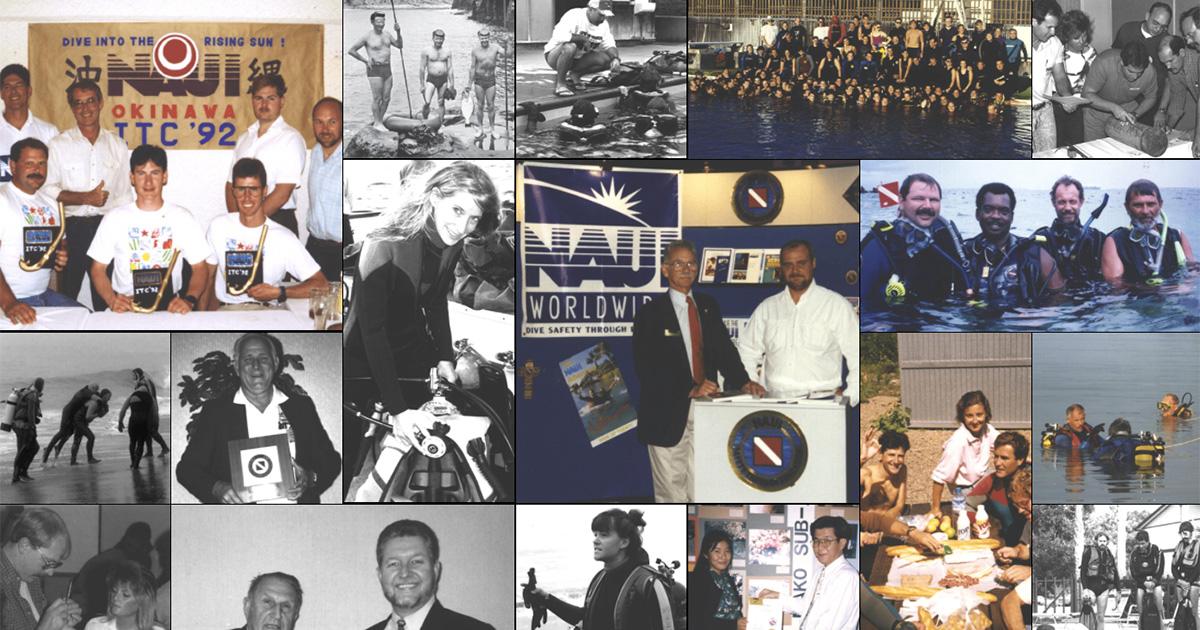 ダイビング指導機関NAUIが設立60周年!
