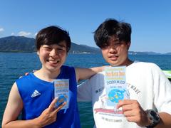 Hiroki(左) Big Blue(右)