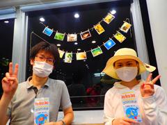 三上智泰さん(左) 吉﨑聖香さん(右)