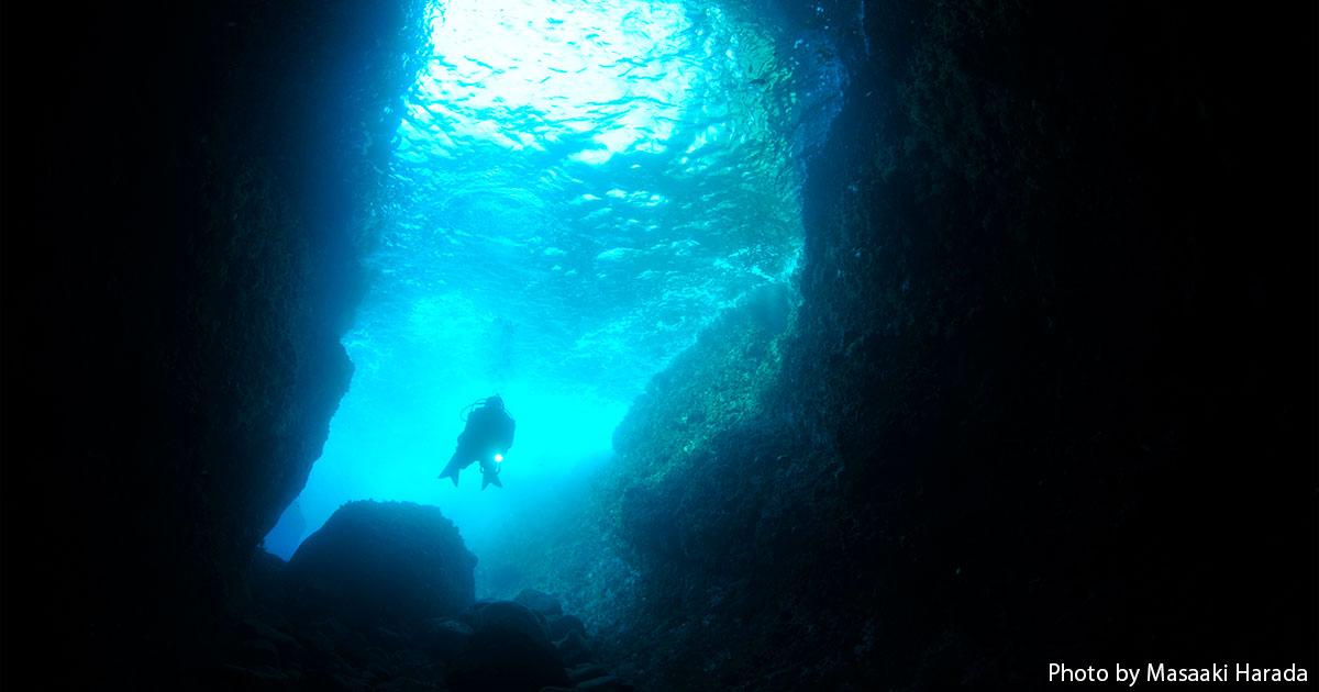 熱海の期間限定スポット「小曽我洞窟」OPEN! 「洞窟」&「沈船」で海中探険