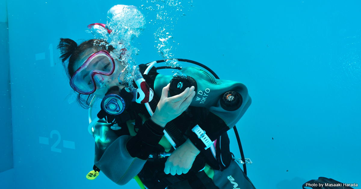 日本の海はこれからが楽しい! ドライスーツで潜るときのワンポイントアドバイス