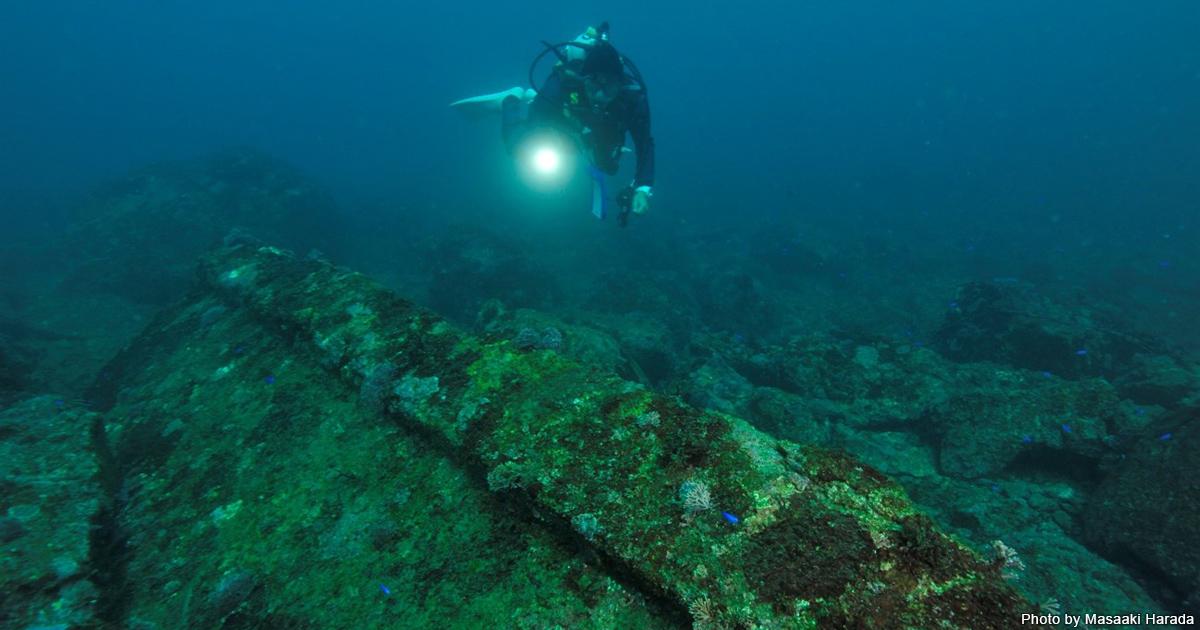 根府川へ100年前に沈んだ遺跡を見に行こう!