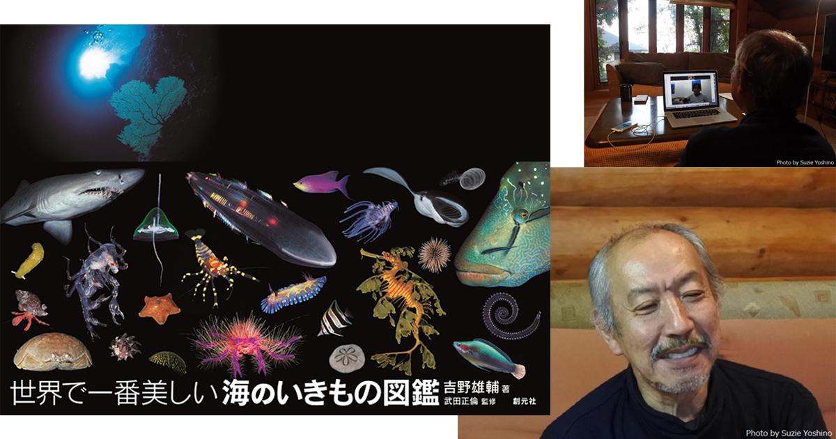 水中写真家・吉野雄輔さん 写真集絶好調の理由を探る!