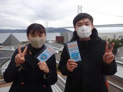 ちぃ(左) 顧席銘さん(右)