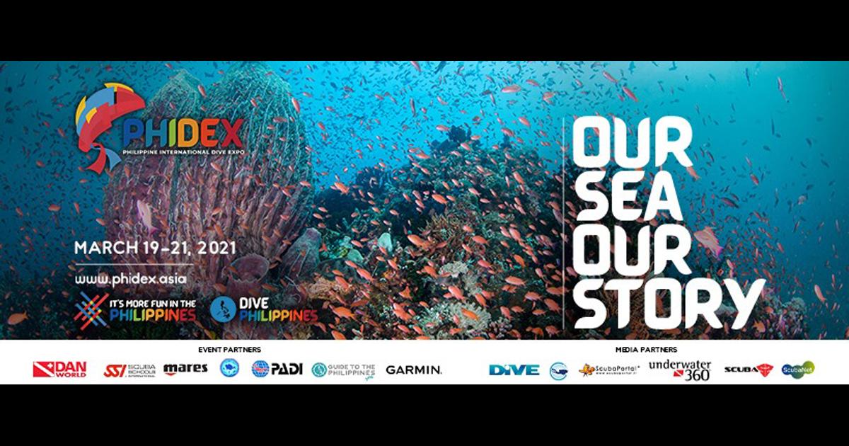 フィリピンのオンラインダイビングEXPO開催